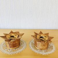 白樺細工/Näver/ネーバー/キャンドホルダー/2個セット