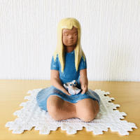 Jie Gantofta/ジィ ガントフタ/鳥さんと女の子のオブジェ/大