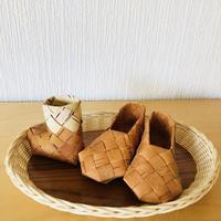 白樺細工/Näver/ネーバー/ミニブーツ&シューズ/3個セット