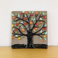Jie Gantofta/ジィガントフタ/陶板/りんごの木