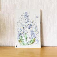 Jie Gantofta/ジィガントフタ/陶板/マーガレットとパープルの小花/大