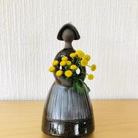 Jie Gantofta/ジィガントフタ/フラワーガール/19cm/ブラウン
