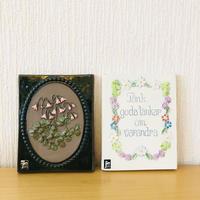 Jie Gantofta/ジィガントフタ/陶板/リネアのお花とことわざシリーズ/2枚セット