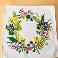 Gocken JOBS/ジョブス/北欧のお花柄のクロス/リネン