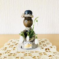 Selsbo/セルスボー/フラワーガールさん/青い帽子