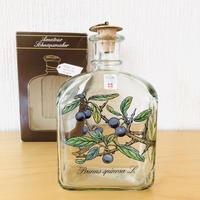 Holmegaard/ホルムガード/ボタニカルリキュールボトル/Pruns spinosa/スピノサ スモモ/オリジナルパッケージ入り未使用品