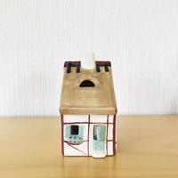 GABRIEL/ガブリエルセラミック製/スウエーデンのお家型キャンドルスタンド/壁掛け