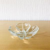 Royal Krona/ローヤルクローナ/四つ葉のクローバー/ガラスの小鉢