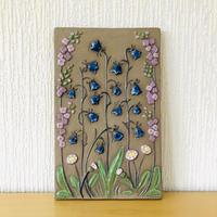 Jie Gantofta/ジィ ガントフタ/陶板/野に咲く花々