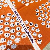 Marimekko/マリメッコ/ヴィンテージフアブリック/Puketti/プケッティ/オレンジxパープル