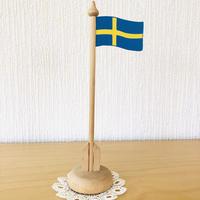 スゥエーデンの国旗/木製