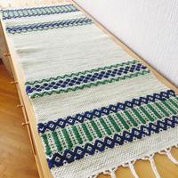 テーブルラグ/手織り