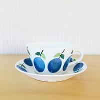 Gustavsberg/グスタフスベリ/Prunus/プルーヌス/ティーカップ&ソーサー