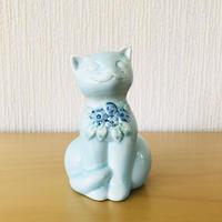 DECO/デコ/Rosa Ljung/ローサ ユング/子猫ちゃんのフィギュア/パステルブルー
