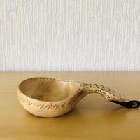 北スウェーデン伝統手工芸/Kåsa/コーサ/リスさん柄