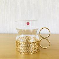 iittala/イッタラ/Tsaikka/ツアイッカ/グラスセット/Gold/クリアx ゴールド/HOLD/S.K様お取り置き品