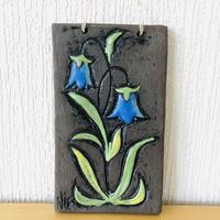Blomma Keramik/ブロンマセラミック/陶板/Blåklocka/ツリガネソウ