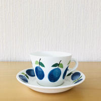 Gustavsberg/グスタフスベリ/Prunus/プルーヌス/コーヒーカップ&ソーサー/CS-02
