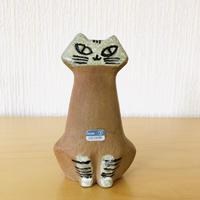 Gustavsberg/グスタフスベリ/Lilla Zoo/小さなズーシリーズ/座りネコ