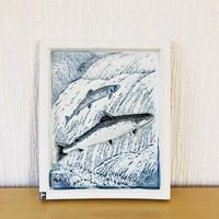Jie Gantofta/ジィガントフタ/陶板/WWF世界自然保護基金/Lax/鮭