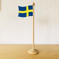 Hemslöjd/スウェーデンの国旗/木製