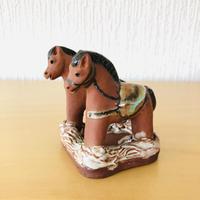 Rutebo Leksandルーテボー レイクサンド/2頭のお馬さんのメッセージスタンド