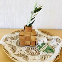 白樺細工/Näver/ネーバー/フラワーベース