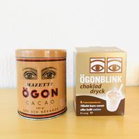 Mazetti/Ögon Kakao Burk/マゼッテイ/ウーゴンカカオ/ヴィンテージ缶/ココアポーションバッグ8個付き