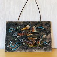 Tilgman Keramik/ティルグマンセラミック/陶板/熱帯魚