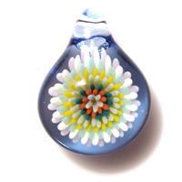 [MCCF-18]mini cute clear flower pendant