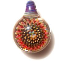 [MCPF-32]mini clear poisonous flower pendant