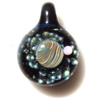 [UWP-09]glasxy double planet pendant