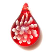 [MCN2-10] mini clear flower pendant