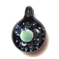 [UCP-03]glasxy star planet pendant