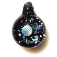 [UP-48]glasxy planet pendant