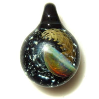 [UK-66] deep sea jellyfish pendant