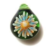 [MCUN-75] mini clear unber flower pendant