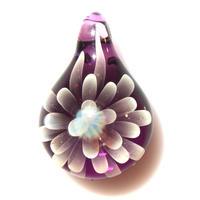 [MCN-91] mini clear flower pendant