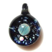 [UWP-32]glasxy double planet pendant