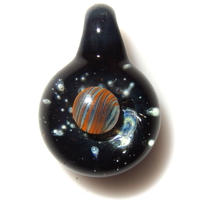 [UP-56]glasxy planet pendant