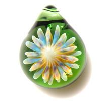 [MCUN-91] mini clear unber flower pendant