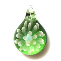 [MCN-95] mini clear flower pendant