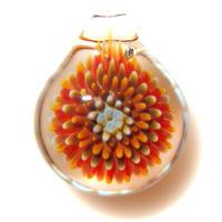 [MCPF-38]mini clear poisonous flower pendant