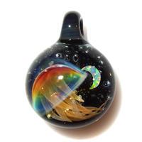 [UCK-35] deep sea crescent jellyfish pendant