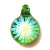 [MCYF-63]mini clear yellow flower pendant