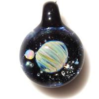 [UWP-10]glasxy double planet pendant