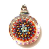 [MCPF-73]mini clear poisonous flower pendant