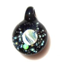 [UWP-16]glasxy double planet pendant