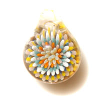 [MCCF-03]mini cute clear flower pendant