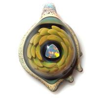 [ATP-08] asymmetry tornado opal pendant